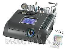 Апарат 7 в 1 мікродермабразія, Фотон, Біо хвиля, мікроструми, УЗ скрабер, гарячий і холодний молоток
