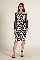 Платье Glem М (CHA-MC4762_Black-Beige)