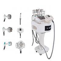 Апарат 6 в 1, 4-Max RF 40 кГц, кавітація, вакуумно роликовий масаж, машина для схуднення, фото 1