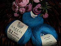 Gazzal Baby cotton XL (Беби коттон ХЛ) 3428 бирюза темная