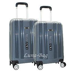 Набор из двух чемоданов 4 Цветов Тёмно-Серый Размеры (20,24)