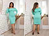 Стильное платье   (размеры 48-54) 0211-96, фото 3