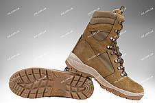 Берці зимові / військова тактична взуття GROZA (coyote), фото 2