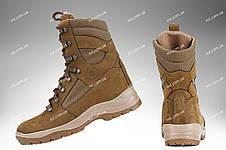 Берці зимові / військова тактична взуття GROZA (coyote), фото 3