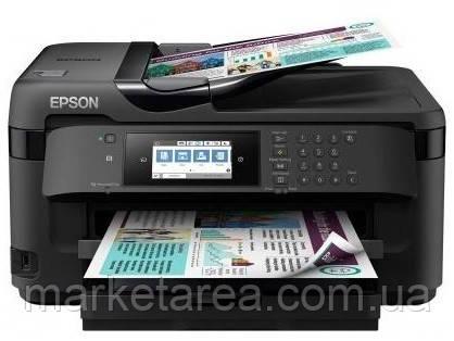 Струйный принтер МФУ Epson WorkForce WF-7710DWF WI-FI (C11CG36413)