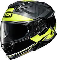 Шлем SHOEI GT-AIR II черный желтый  XL