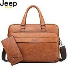 Мужская деловая сумка портфель Jeep