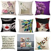 Декоративная подушка (большой выбор) 45см х 45см, диванная, интерьерная 115002