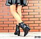40 размер Женские черные казаки натуральная кожа Деми, фото 5