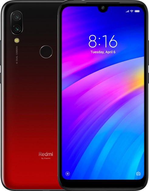 Смартфон Xiaomi Redmi 7 4/64Gb Lunar Red