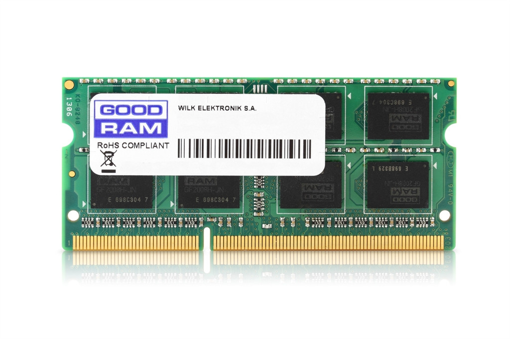 Модуль памяти SO-DIMM 8Gb/1333 DDR3 GOODRAM (GR1333S364L9/8G)