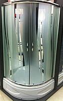 Душевая кабина SANTEH 9018R (90*90*1,95м) под 30см. хром/ROLA