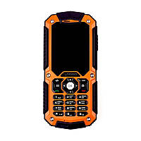 Мобильный телефон Sigma mobile X-treme IT67M Single Sim Black-Orange (4827798828328), 2.2 (220x176) TN / клавиатурный моноблок / MediaTek МТК6260A /