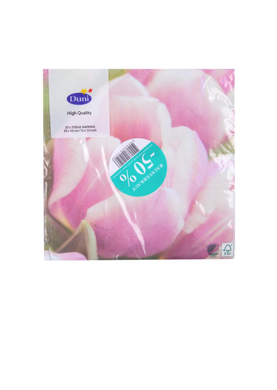 Салфетки Duni тюльпан 20шт 33х33см