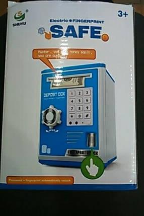 """Электронная копилка """"сейф банкомат"""" с кодовым замком и купюроприемником, фото 2"""