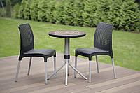 Набор садовой мебели Chelsea Set With Mosaic Table из искусственного ротанга, фото 1