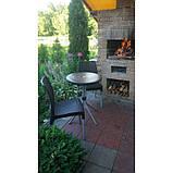 Набір садових меблів Chelsea Set With Mosaic Table з штучного ротанга ( Allibert by Keter ), фото 5
