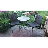 Набір садових меблів Chelsea Set With Mosaic Table з штучного ротанга ( Allibert by Keter ), фото 7