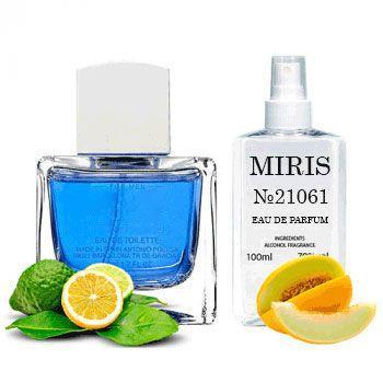 Духи MIRIS №21061 (аромат похож на Antonio Banderas Blue Seduction Men) Для Мужчин 100 ml