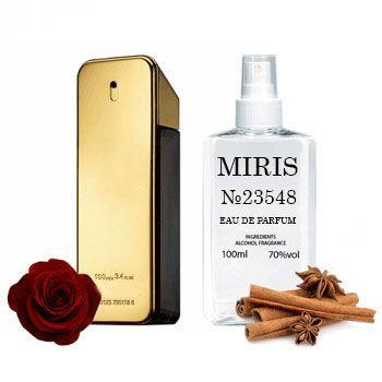 Духи MIRIS №23548 (аромат похож на Paco Rabanne 1 Million) Для Мужчин 100 ml