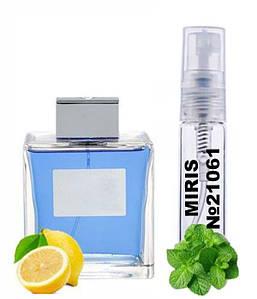 Пробник Духов MIRIS №21061 (аромат похож на Antonio Banderas Blue Seduction Men) Для Мужчин 3 ml