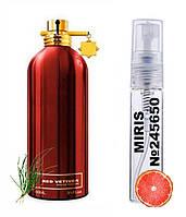 Пробник Духов MIRIS №245650 (аромат похож на  Red Vetyver) Для Мужчин 3 ml