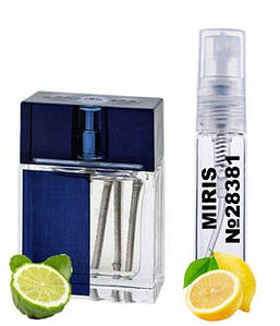 Пробник Духов MIRIS №28381 (аромат похож на Armand Basi In Blue) Для Мужчин 3 ml