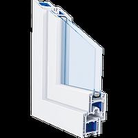 Металлопластиковые окна из профиля Trocal 58