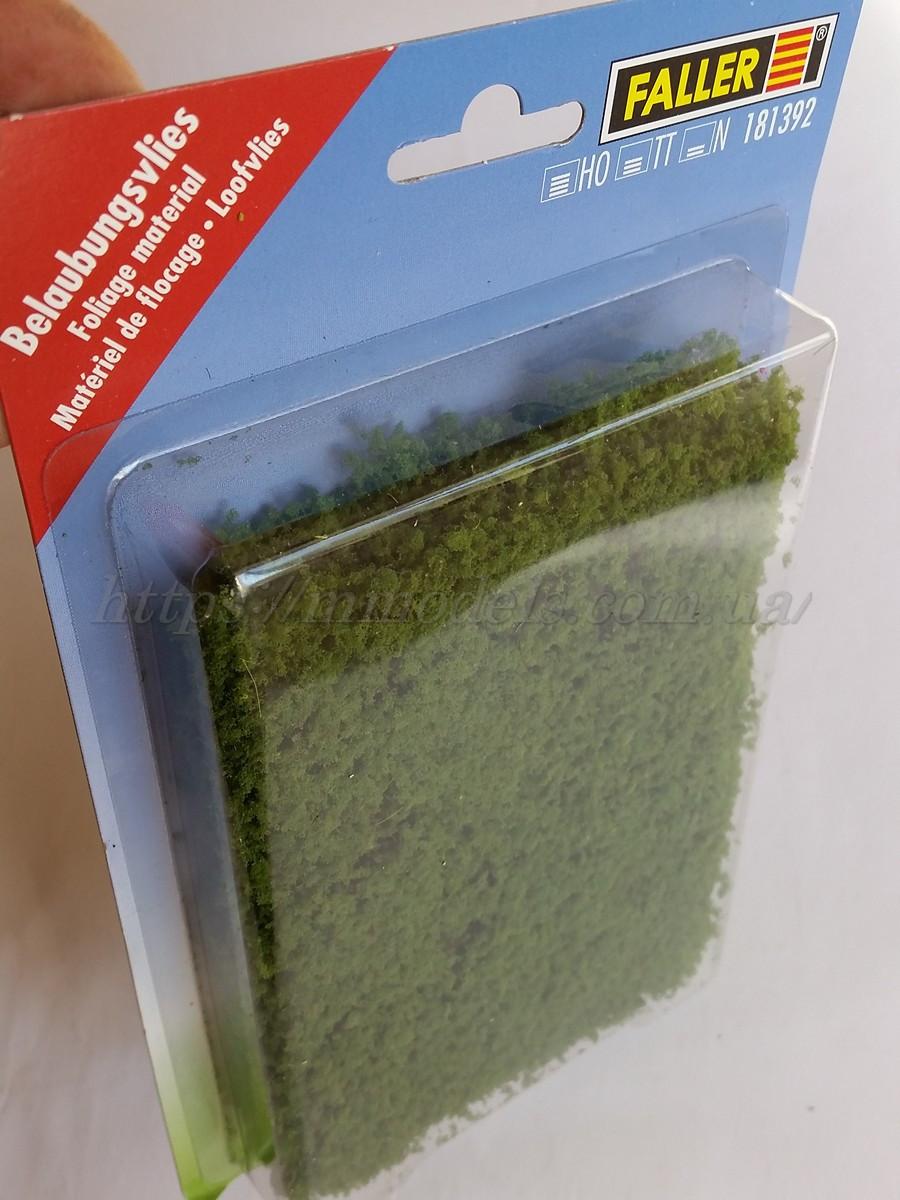 Faller 181392 - Набор присыпки листва светло зеленая, для ланшафтных дизайнов, масштаба H0, TT, N