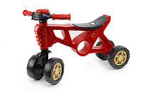 Беговел Красный разработан в лучших традициях безупречного качества и неповторимого дизайна