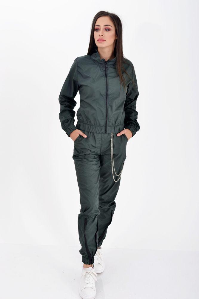 Спорт костюм женский Темно-зеленый