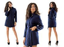 Короткое пальто с воротником-стойкой, фото 3