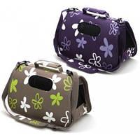 Сумка-переноска для кошек и собак Comfy 211948 VANESSA  M 49x22x29  фиолетовая