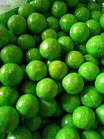 Шарики глянцевые  зеленые  d-10 мм, (0,050 грм)
