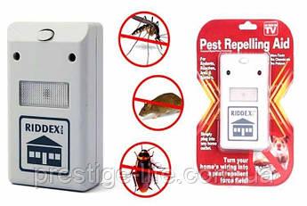 Электронный отпугиватель насекомых, грызунов, тараканов Riddex Pest Repelling Aid