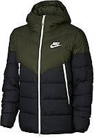Куртка пуховая мужская Nike Windrunner, Зелёный, 44-46