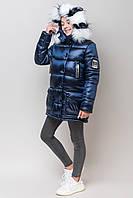 "Зимняя модная куртка для девочки ""zkd-18"", фото 1"
