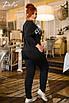 Женский спортивный костюм двухнитка 46-48, 50-52, 54-56, фото 3