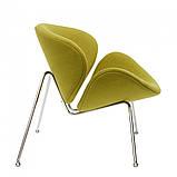 Кресло лаунж Foster( Фостер) зелёное, фото 3