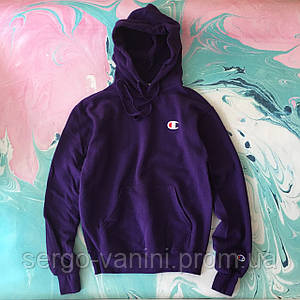 Худи Champion violet (replica top)