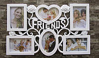 Фотоколлаж -рамка на стену из нескольких фотографий