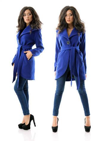 Кашемировое пальто с закругленной линией низа, фото 2