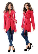 Кашемировое пальто с закругленной линией низа, фото 3