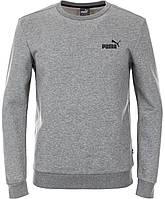 Джемпер мужской Puma Ess Logo Crew, Серый, 44-46