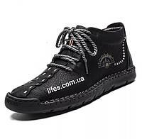 Мужские ботинки натуральная кожа с мехом размер 41, фото 1