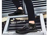 Мужские ботинки натуральная кожа с мехом размер 40, фото 1