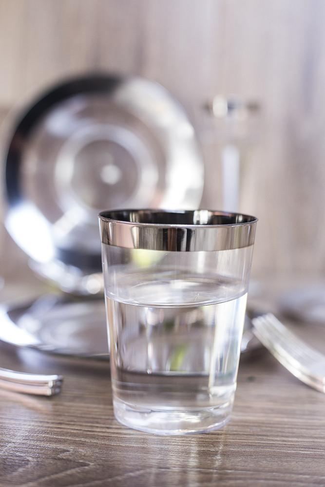Пластиковые стаканы 6 шт 220 мл для фуршета и кейтеринга стеклопластик Capital For People