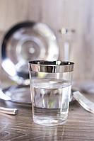 Пластиковые стаканы 6 шт 220 мл для фуршета и кейтеринга стеклопластик Capital For People, фото 1