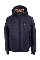 Мужские куртки зимние от производителя   50-58 темно-синий