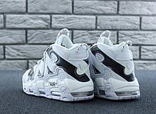 Мужские кроссовки в стиле Nike Air More Uptempo x Off White, фото 3